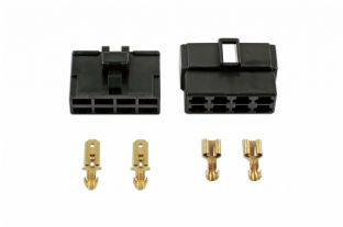 Connect 37406 18 Piece 250 Type Connector 8 Pin Kit